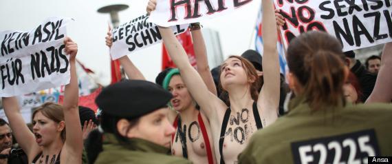 FEMEN BERLINO