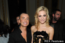 Pixie Lott Steals The Show In Cutout Bodycon At Julien MacDonald