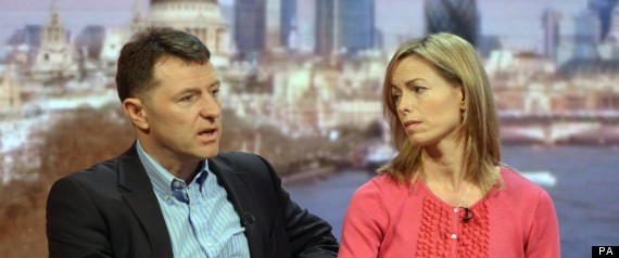 Madeleine McCann's Parents, Gerry And Kate Say Royal Charter Press ...