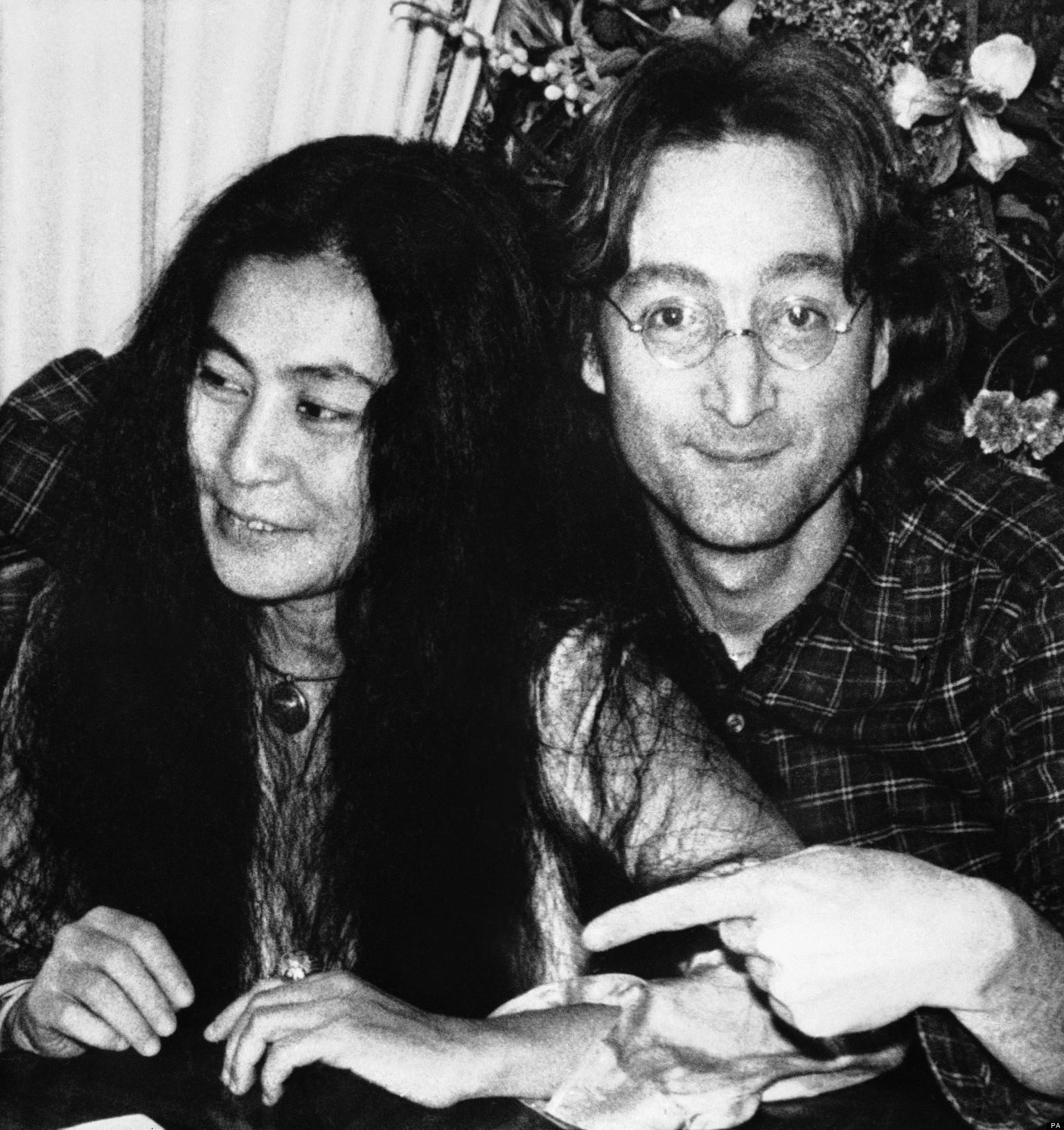 Yoko Ono And John Lennon Yoko Ono Celebr...