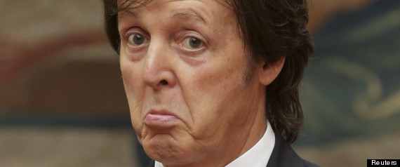 Paul McCartney regina vegetarian