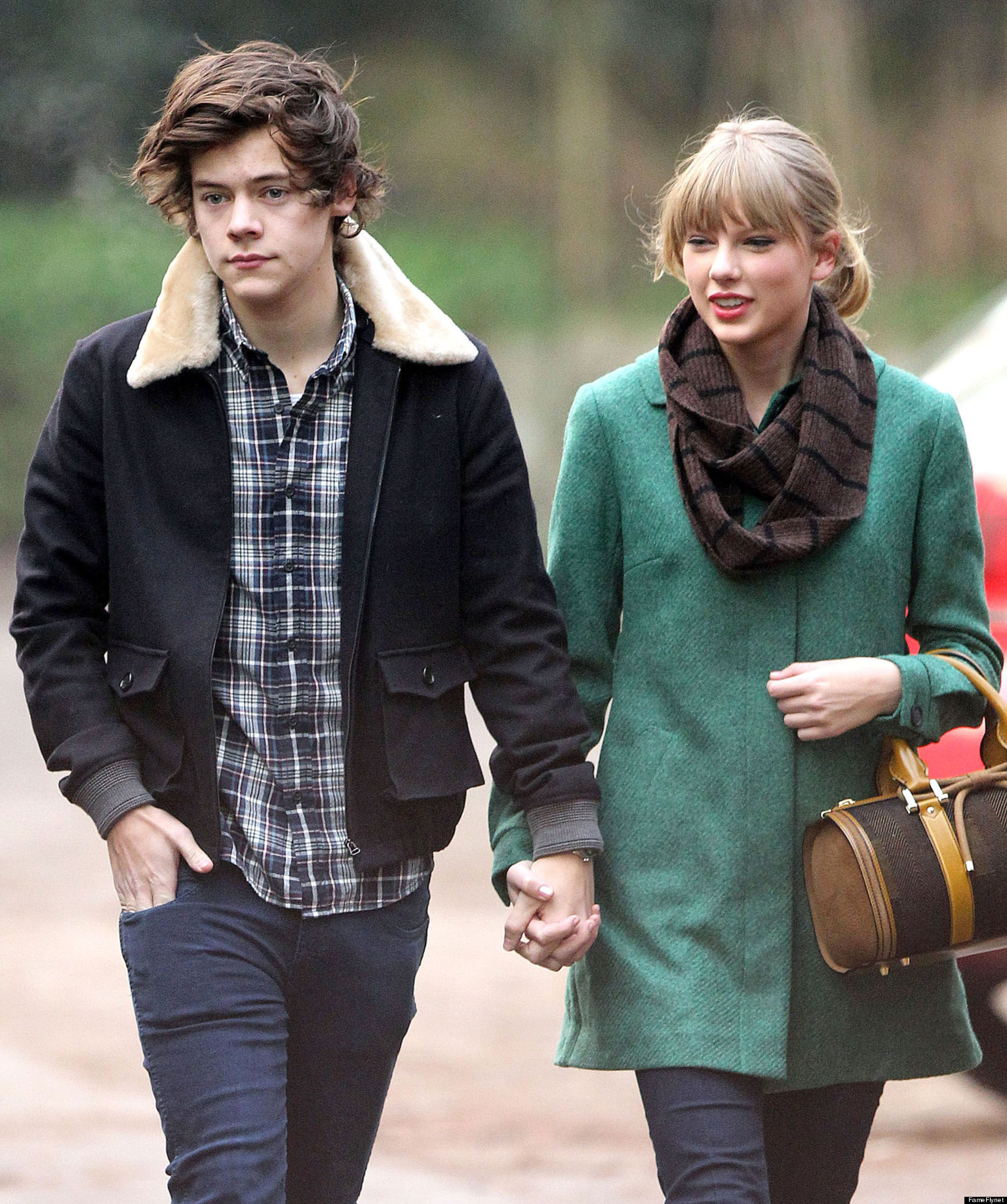 Taylor Swift with ex-boyfriend Harry Styles