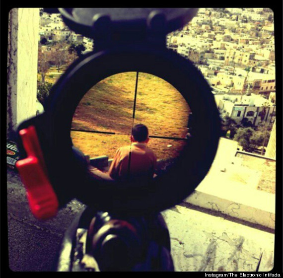 israeli sniper photo child