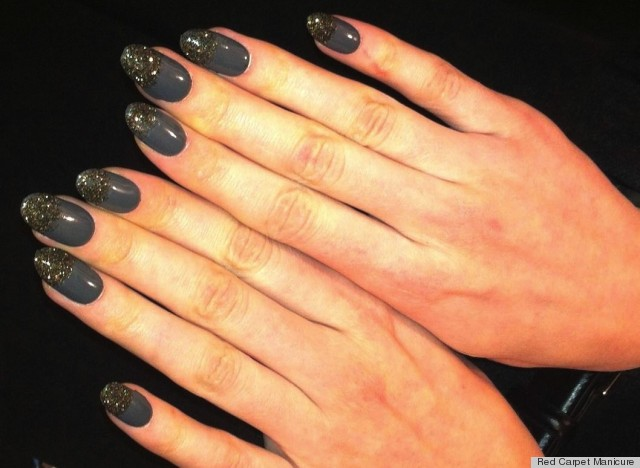 Nicholas K Fall 2013 Nail Art Gives Us A Glitter Rush Photos