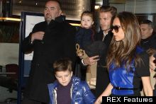 The Beckhams Make A Stylish Entrance Into Paris