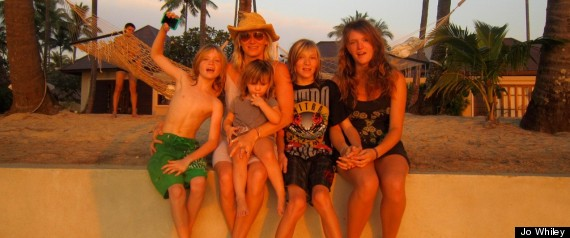 JO WHILEY AND KIDS