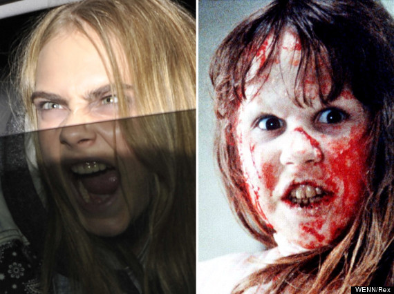 cara delevingne the exorcist