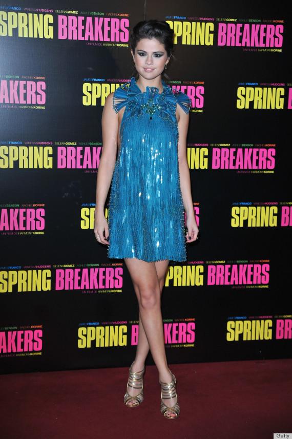 selena gomez spring breakers premiere