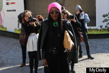 London Fashion Week Street Style: The Fabulous Finale