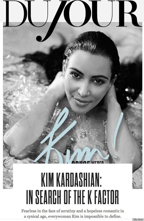 kim kardashian du jour