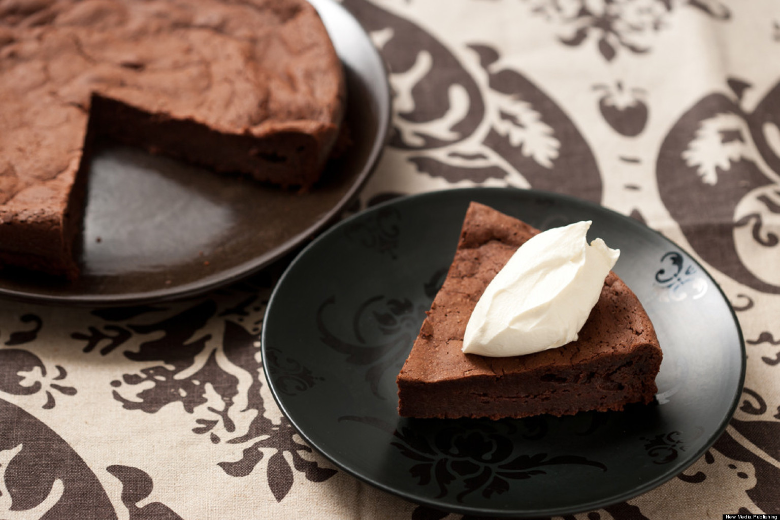 Recipe Of The Day Flourless Chocolate Cake Huffpost