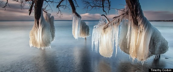 Timothy Corbin Lake Ontario Winter