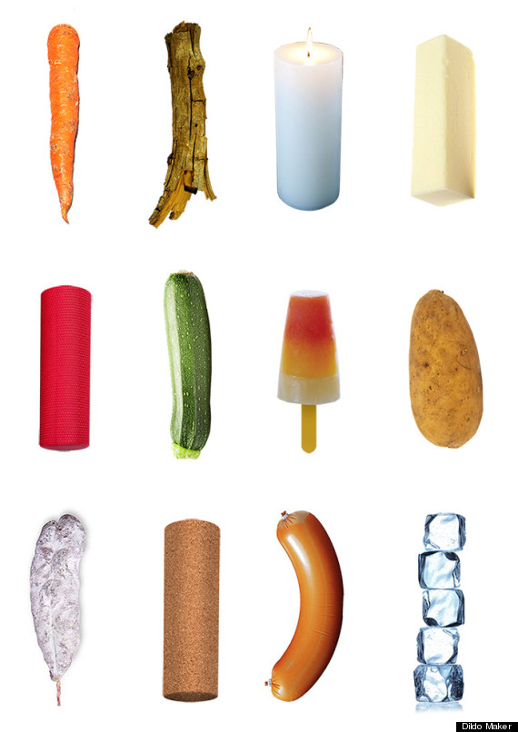 Household objects to use as dildos