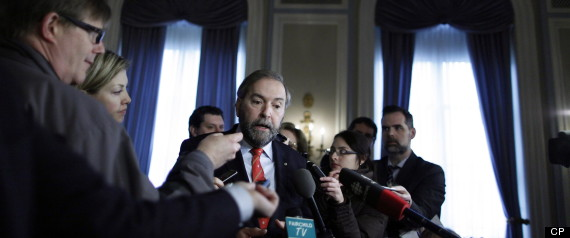 Mulcair Foreign Investment Calgary
