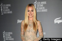 Cat Deeley Is Perfect In Nude At Costume Designers Guild Awards